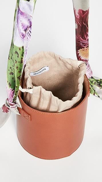 Montunas Isla 围巾式提手包
