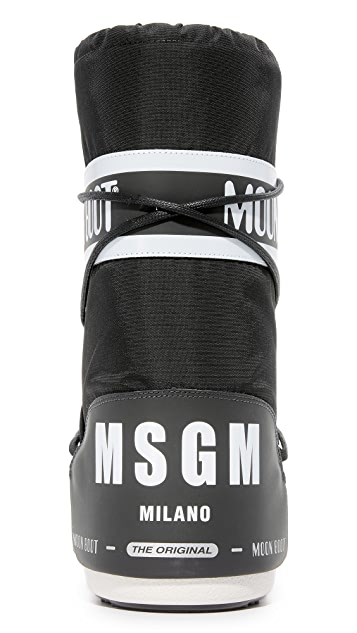 Moon 靴子 MSGM x Moon Boots Classic MI 靴子