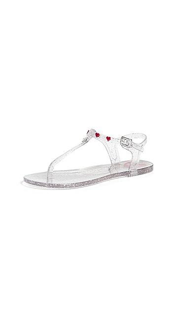 Moschino Love Moschino 夹趾凉鞋