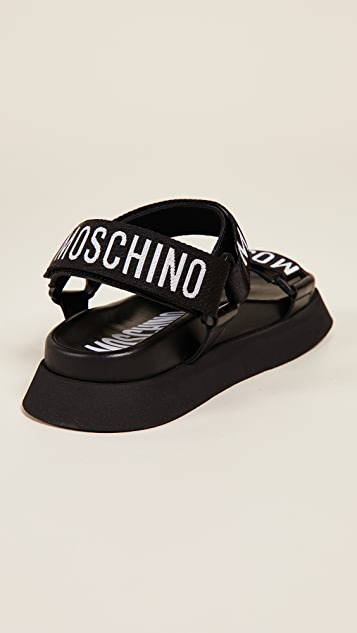 Moschino Travel 凉鞋