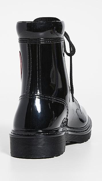 Moschino 心形靴子