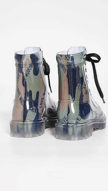 Moschino Print 靴子
