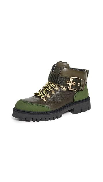 Moschino Moschino Combat 踝靴