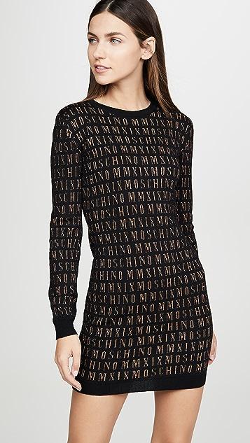 Moschino Moschino 毛衣连身裙