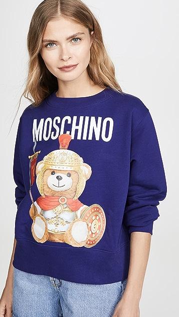 Moschino Moschino 熊圆领上衣