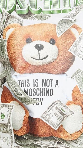 Moschino Teddy Bear T 恤
