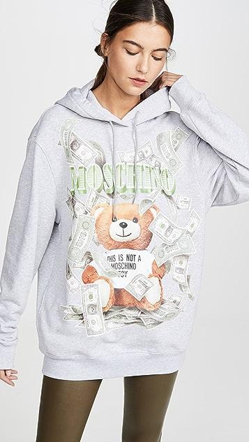 Moschino Teddy Money 运动衫