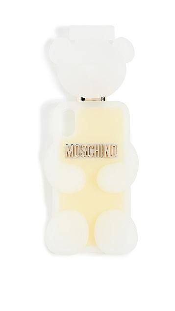 Moschino 梦幻印花白色手机壳