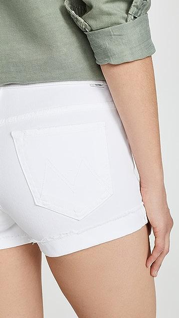 MOTHER The Rascal Slit Flip 短裤
