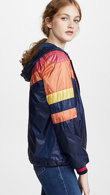 MOTHER 三角条纹运动夹克