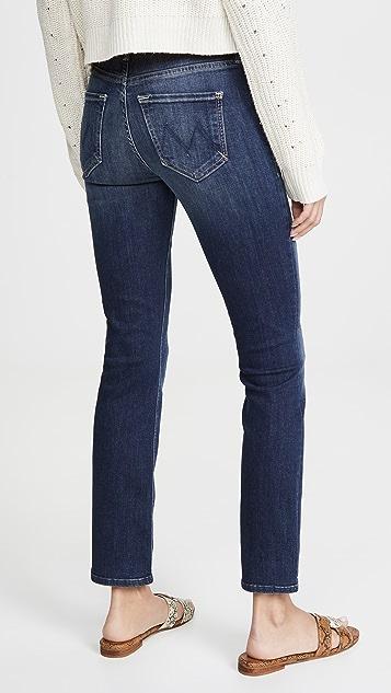MOTHER Dazzler 中腰牛仔裤