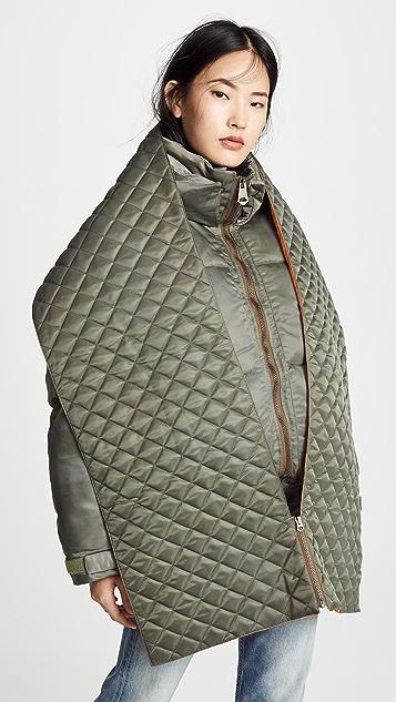 MOUSSY VINTAGE 围巾和羽绒大衣套装