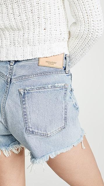 MOUSSY VINTAGE MV Mathews 短裤
