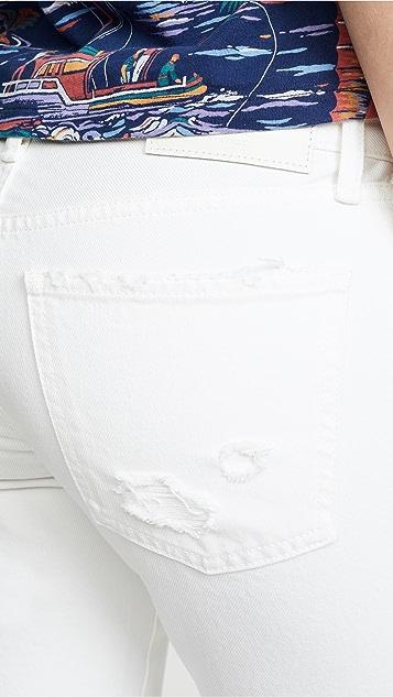 MOUSSY VINTAGE MV Deming 小脚牛仔裤