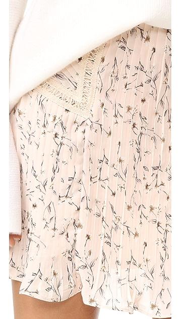 Moon River 褶皱半身裙