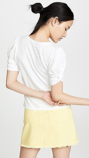 Moon River 泡泡袖 T 恤