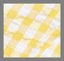 黄色格纹泡泡纱