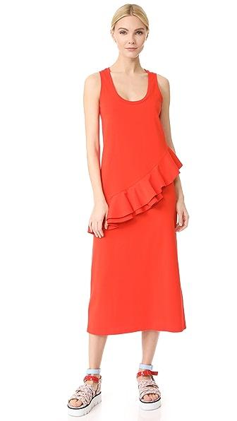 MSGM 不对称背心式连衣裙