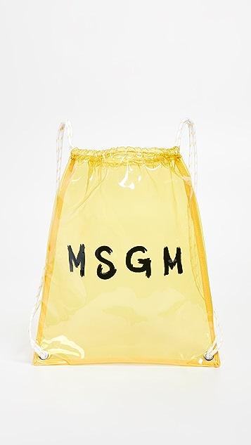 MSGM MSGM 双肩包