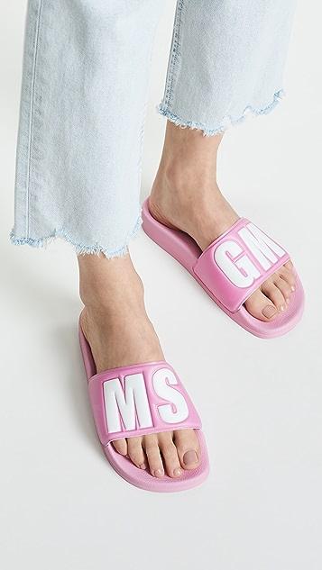 MSGM MSGM 凉拖便鞋