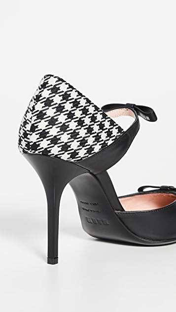 MSGM 玛丽珍侧空浅口鞋