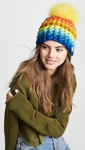 Mischa Lampert 条纹针织帽