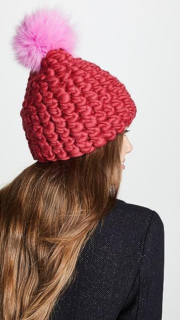 Mischa Lampert Beanie Pomster 帽子