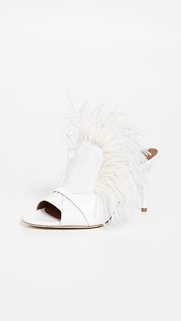 Malone Souliers Marina 85mm 凉拖鞋