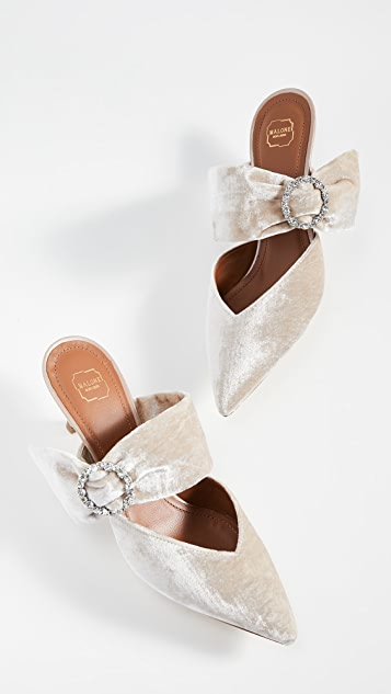 Malone Souliers Maite Crystal 45 穆勒鞋