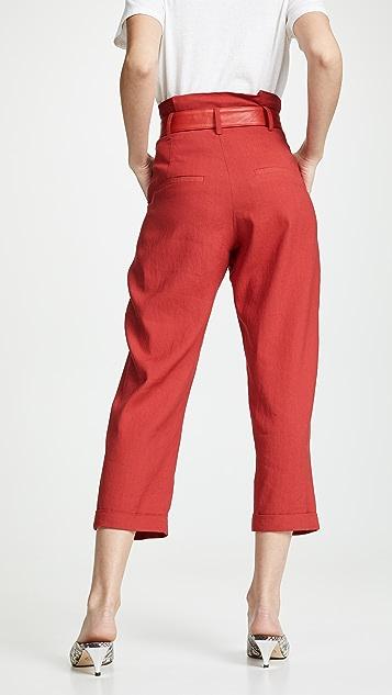 Marissa Webb Anders 系腰带长裤