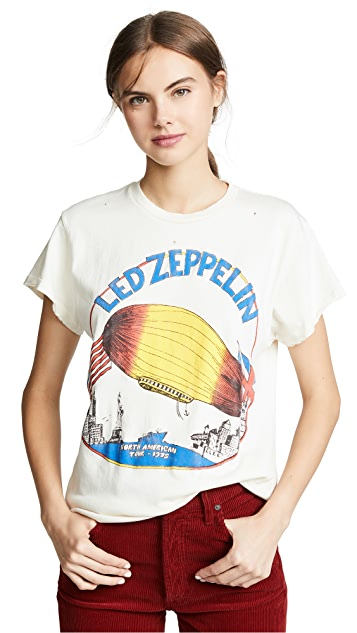 MADEWORN ROCK Led Zeppelin T 恤