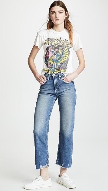 MADEWORN ROCK Rolling Stones T 恤