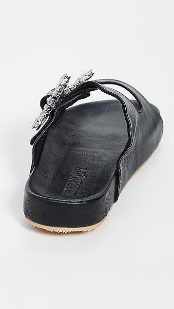 Mystique 装饰搭扣凉拖鞋