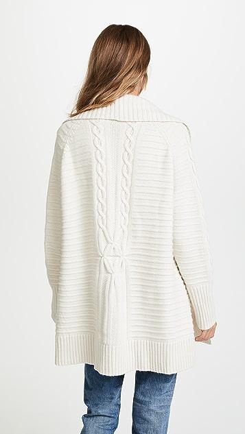 Naadam Cast 针织开襟羊毛衫