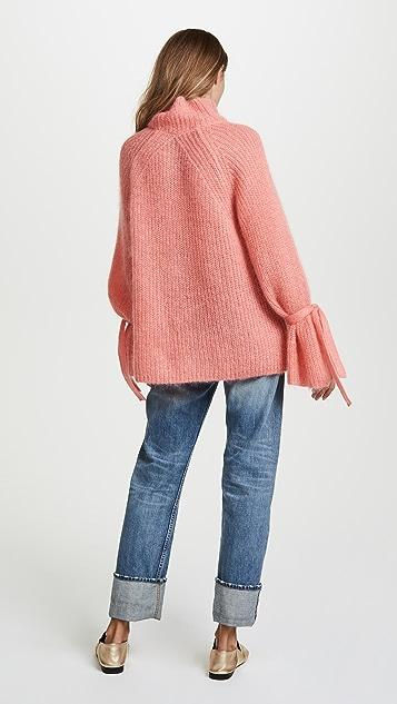 Naadam 超大高领毛衣