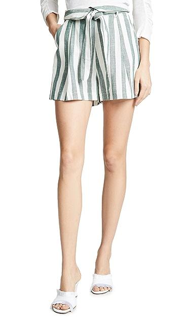 re:named Kiara 条纹短裤