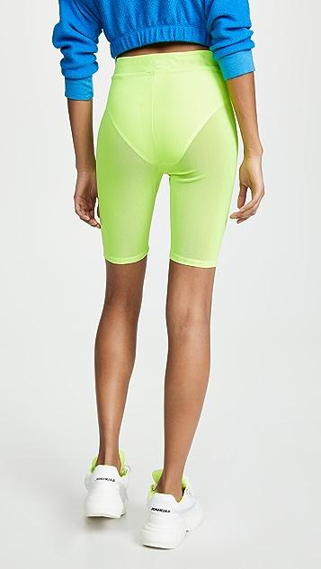 re:named Neon Biker 短裤
