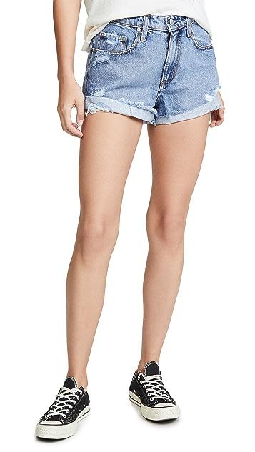 Nobody Denim 波西米亚风格短裤