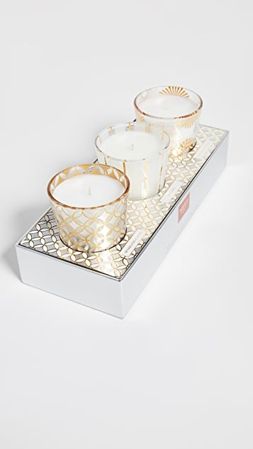 Nest Fragrance 假日小巧香烛 3 件装