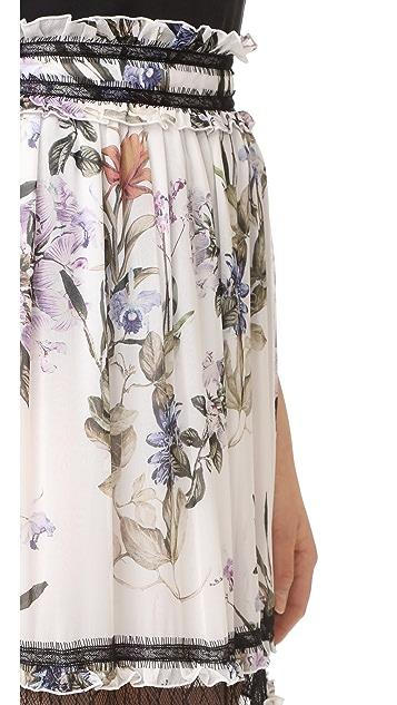 Nicholas Iris 印花半身长裙