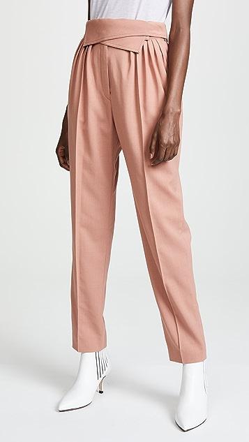 Nina Ricci 绉绸裤