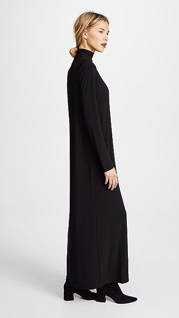 Norma Kamali Kamali Kulture Go 高领长连衣裙