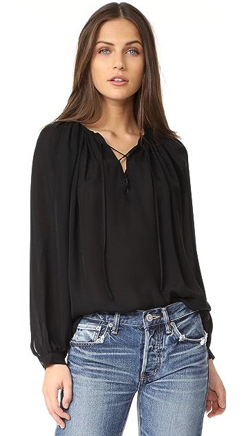 Nili Lotan Janvier 女式衬衫