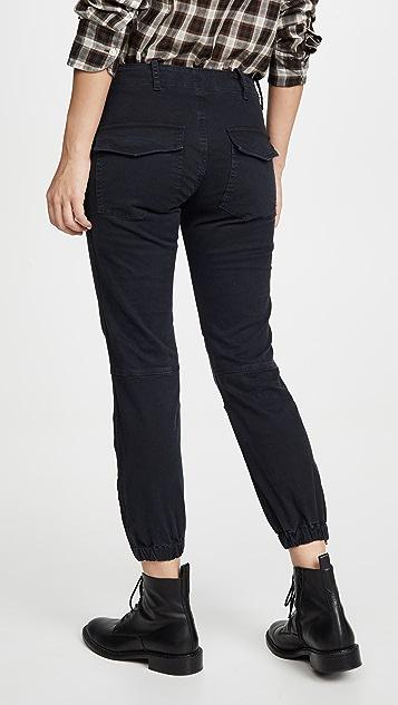 Nili Lotan 织带法式军旅风格九分裤