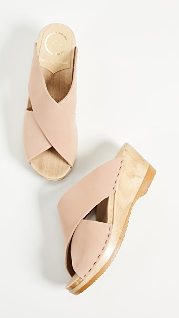 No. 6 Frida 坡跟木底鞋