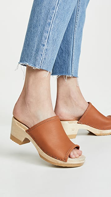 No. 6 Daria 中跟木底鞋