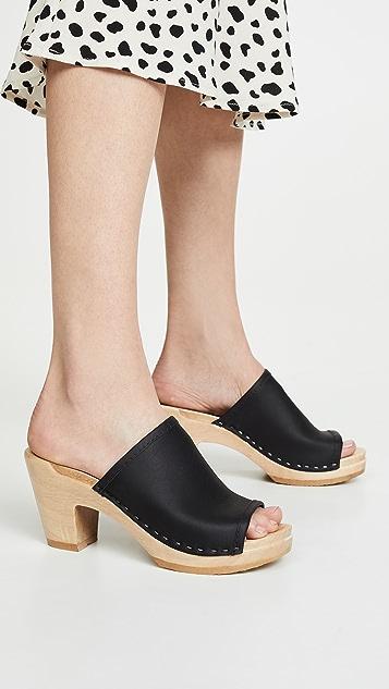 No. 6 Daria 高跟木底鞋