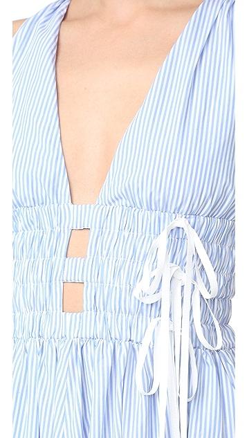 No. 21 无袖条纹长裙