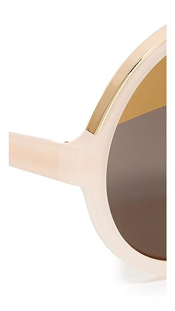 No. 21 超大圆形可折叠太阳镜