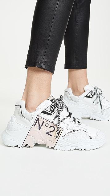 No. 21 标志跑步运动鞋